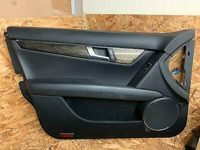 Mercedes C-Class W204 Passenger Side Front Door Card Cover Leather