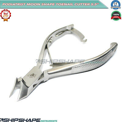 Moon Shape Cutter Extra Thick Steel Nail Cutter Professional Chiropody Toe Nail