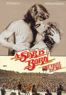 A Star Is Born Movie DVD Barbra Streisand Kris Kristofferson Gary Busey