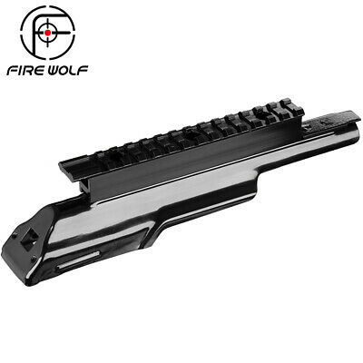 Fire Wolf MAK 90 Top Receiver Cover Scope Mount Base Dust Cover See-Thru Rail