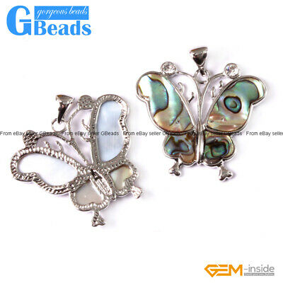 Natural Abalone Shell Beads Pendant for Jewelry Making 1 Pcs Free Shipping
