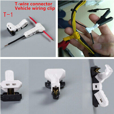 20Pcs 23-20AWG Car Electrical Wire Wiring Cable T-type Connector Terminal Splice