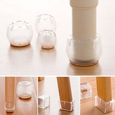 10pcs Furniture Table Cover Round Chair Leg Cap Feet Silicone Protector Pads new