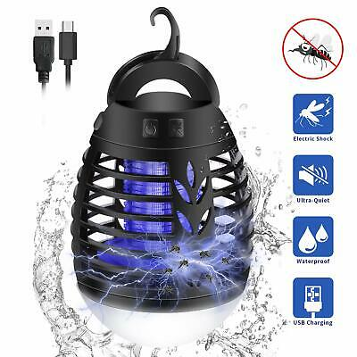 LED Camping Lantern Mosquito Killer Lamp Tent Light - 2 in 1 Insect Bug Zapper V