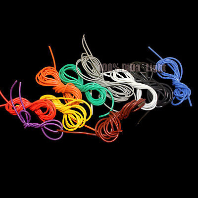 26AWG Flexible Silicone Wire RC Cable / Outer Diameter 1.5mm (8 Color)