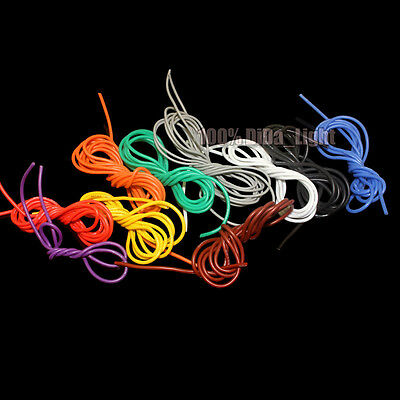 28AWG Flexible Silicone Wire RC Cable / Outer Diameter 1.2mm (9 Color)