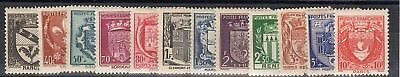 """France: Serie Complete De 12 Timbres Type """"Blasons"""" Neuf** Ytn°526/537 C:38,00 €"""