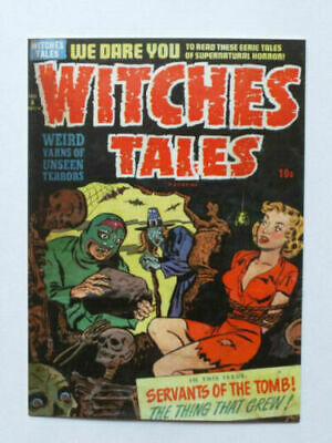 Carte Postale Art Of Classic Comics Witches Tales N°6 Postcard