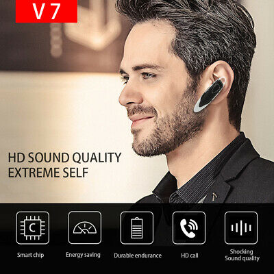 V7 Business mains libres écouteur sans fil Bluetooth casque universel