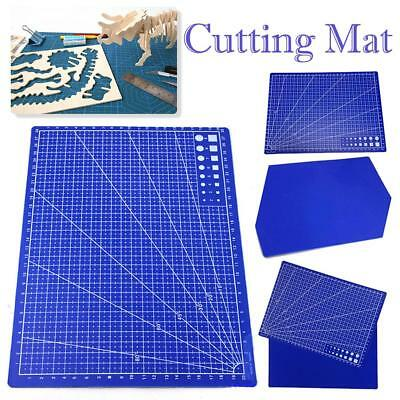 1Pc A4 Grid Lines Cutting Mat Scale Plate Craft Card Fabric Leather Paper Board