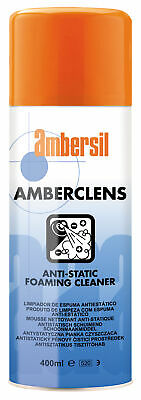 Ambersil 31592 Amberclens Anti-Static Foaming Cleaner 400Ml
