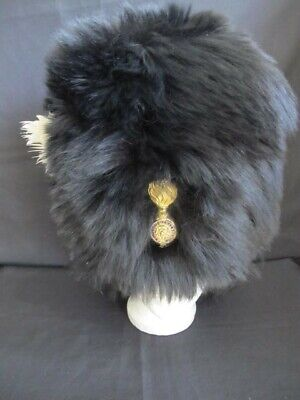 Victorian Officers Bearskin of the Royal Fusiliers