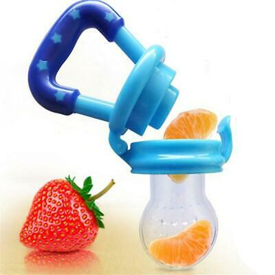 Baby Safe Food Fruit Feeder Teething Soother Silicone teether Nibbler UK Seller