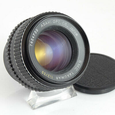 Pentax Takumar 55mm f/2 Fast Prime M42 / screw fit mount Lens | UK Camera Store