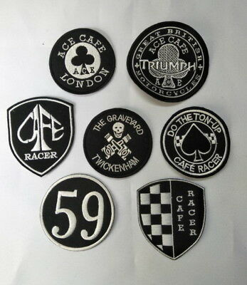 ecusson patch ACE CAFE RACER TRIUMPH harley mc