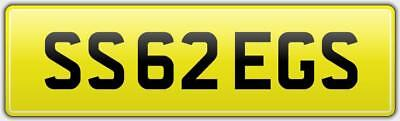 Greg Rare Car Reg Number Plate Ss62 Egs Not 55 Gregs Gregory Gregg Greig Gregory