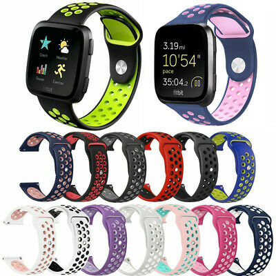 For Fitbit Versa Replacement Band Silicon Sport Wristband Watch Strap Bracelet