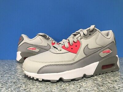 421b1f079c Nike Air Max 90 Grey 833376-007 Leather Women Junior Shoes Sz 5y / 6.5