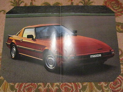 Poster 2 Pages Auto : Mazda Rx-7