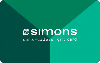 Simons Gift Card - $25 Mail Delivery