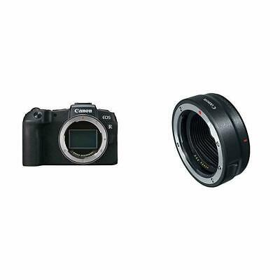 Canon EOS RP Mirrorless Camera Body + Canon Mount Adapter EF-EOS R