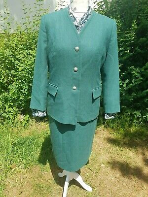 Vintage Eastex Heirloom Suit And Blouse Size 14