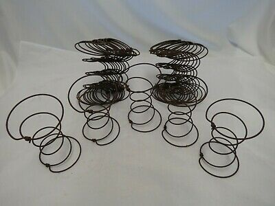 Lot of 25 Hour Glass Rusty Bed Springs-Light-Weight-Shabby/Vintage/ Crafts