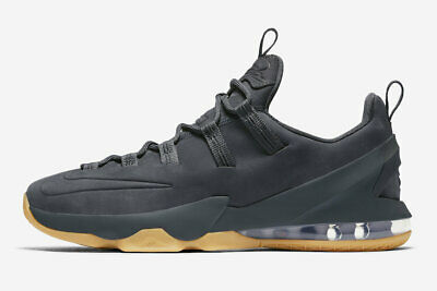 4f02ed2a874 NIKE LEBRON 13 Xiii Low Grey Black Met Gold White Size 16 (831925 ...