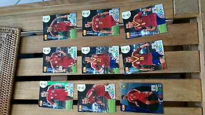lot cartes Panini Adrenalyn World Cup 2014 Football Cards ESPAGNE ESPANA