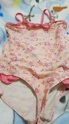 lovely girls PEPPA PIG swimming costume age 3-4 years