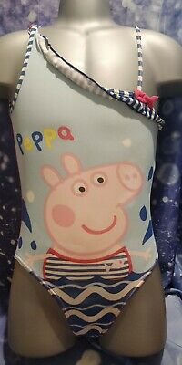 Lovely Girls YD PEPPA PIG swimming costume age 5-6 yrs