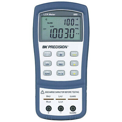 BK Precision 880 Dual-Display Handheld LCR Meter, 40,000 Count, 100kHz