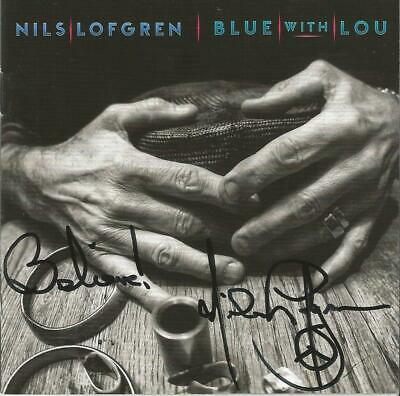 Nils Lofgren Autographed Blue With Lou CD (of The E Street Band)