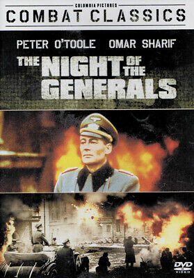 The Night of the Generals (Combat Classics) New DVD