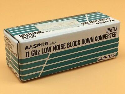 Maspro 11GHz Low Noise Block Down Converter