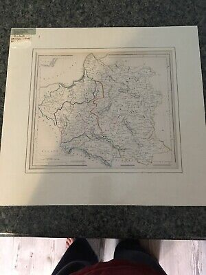 1855 Map Of Poland