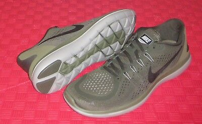 7cb0ab0d579 Nike Running Flex 2017 Rn 898457 300 Athletic Shoes Sz 15 Nwob Sequoia Olive