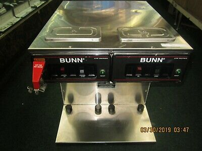 BUNN-O- MATIC Twin Infusion Airpot Commercial Coffee Maker  CWTF TWIN-TC