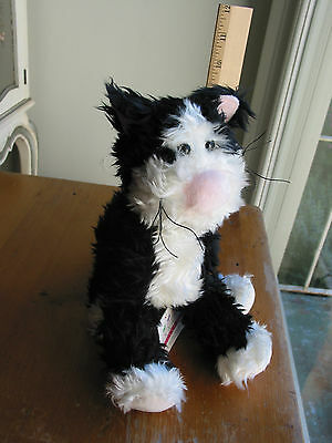 New With Tags Douglas Cuddle Toys 274 Sneakers Cat Plush Stuffed Animal NWT