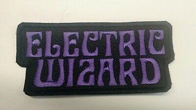 Electric Wizard Patch Iron/Sew-on Embroidered Doom Stoner Metal Black Sabbath