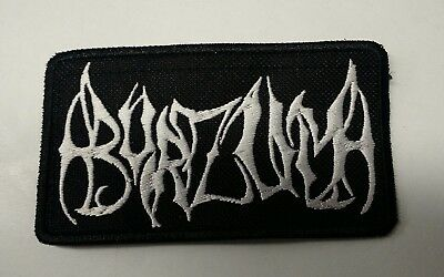 1BURZUM Embroidered Patch IRON/SEW ON Black Metal USA Seller Fast Delivery New