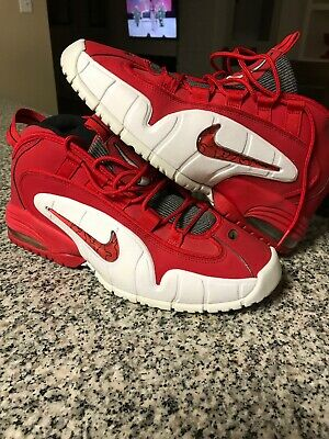 the latest 3337b 25d15 Nike Air Max Penny 1 Retro Red Basketball Shoes - 685153-600 - Men s Size