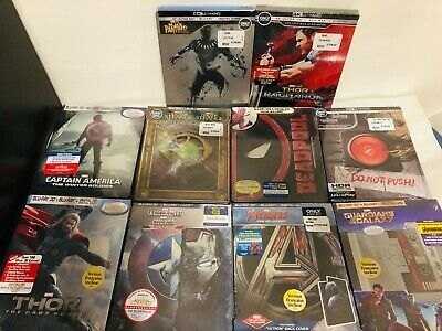 Thor Captain America Avengers Marvel Blu-Ray 3D 4K Steelbook Best Buy Collection