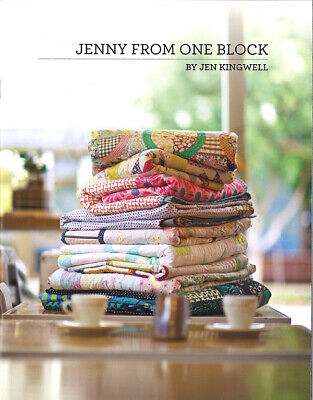 Quilt Pattern Booklet ~ JENNY FROM ONE BLOCK ~ by Jen Kingwell