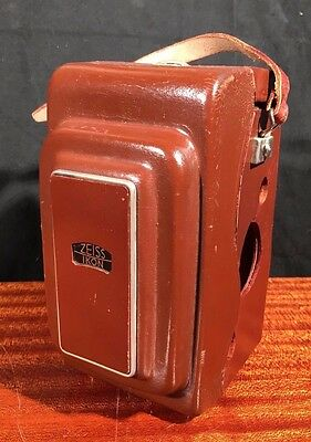 Vintage Zeiss Ikon Camera Case Rare German 1250/16 for IKOFLEX FAVORIT TLR Nice