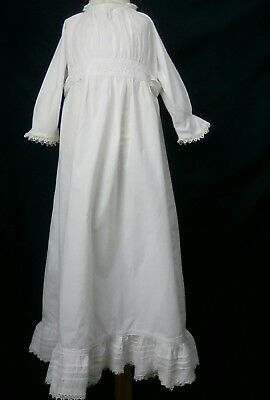 Antique Vintage Baby/Doll/Teddy Dress Babies Christening Robe