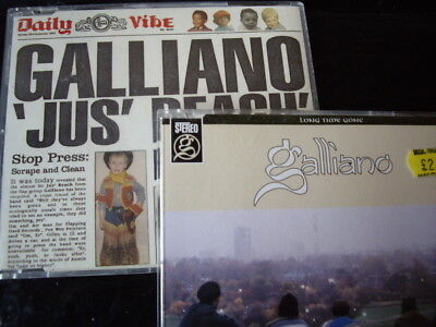 Galliano - 2-Cds Pack: Jus' Reach + Long Time Gone Just