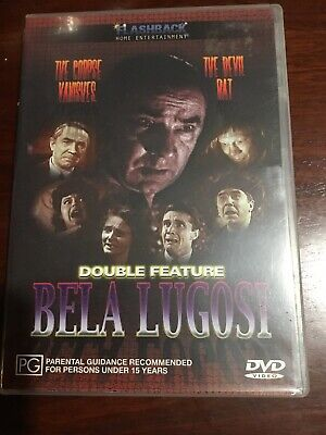 THE CORPSE VANISHED & THE DEVIL BAT Bela Lugosi New Unsealed B/W DVD R All