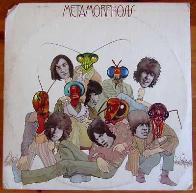 "The Rolling Stones - ""Metamorphosis"" LP Vinile ABKCO USA 1975 (cut)"