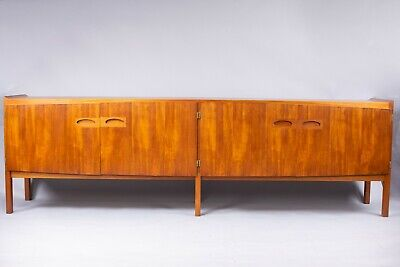 Vintage Danish teak sideboard By Hovmand Olsen for Mogens Kold 1960s retro